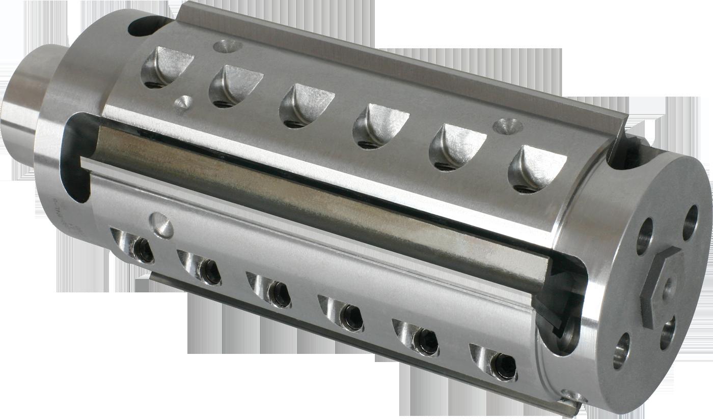 ABA jako jeden z nielicznych dostawców na świecie produkuje szeroką gamę profesjonalnych narzędzi do maszynowej obróbki drewna - piły, frezy lutowane, głowice, frezy trzpieniowe, narzędzia z mocowaniem hydro, Power Lock, HSK, SK, narzędzia do złącz, zestawy do produkcji okien i drzwi, noże oraz szeroki asortyment narzędzi DIA. Fot. FABA