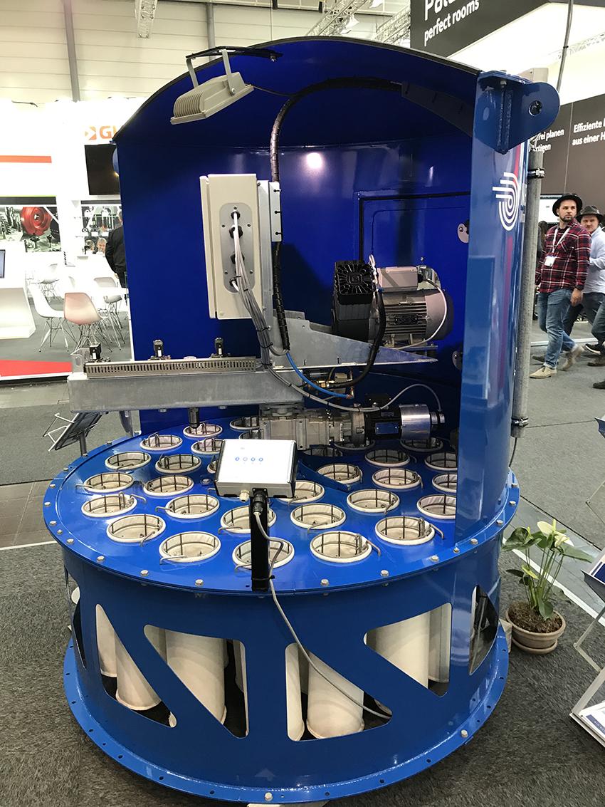 Wystawa w Hanowerze była doskonałą okazją do zapoznania się ze szczegółami technologii stosowanej przez JKF. Fot.  KD MEDIA
