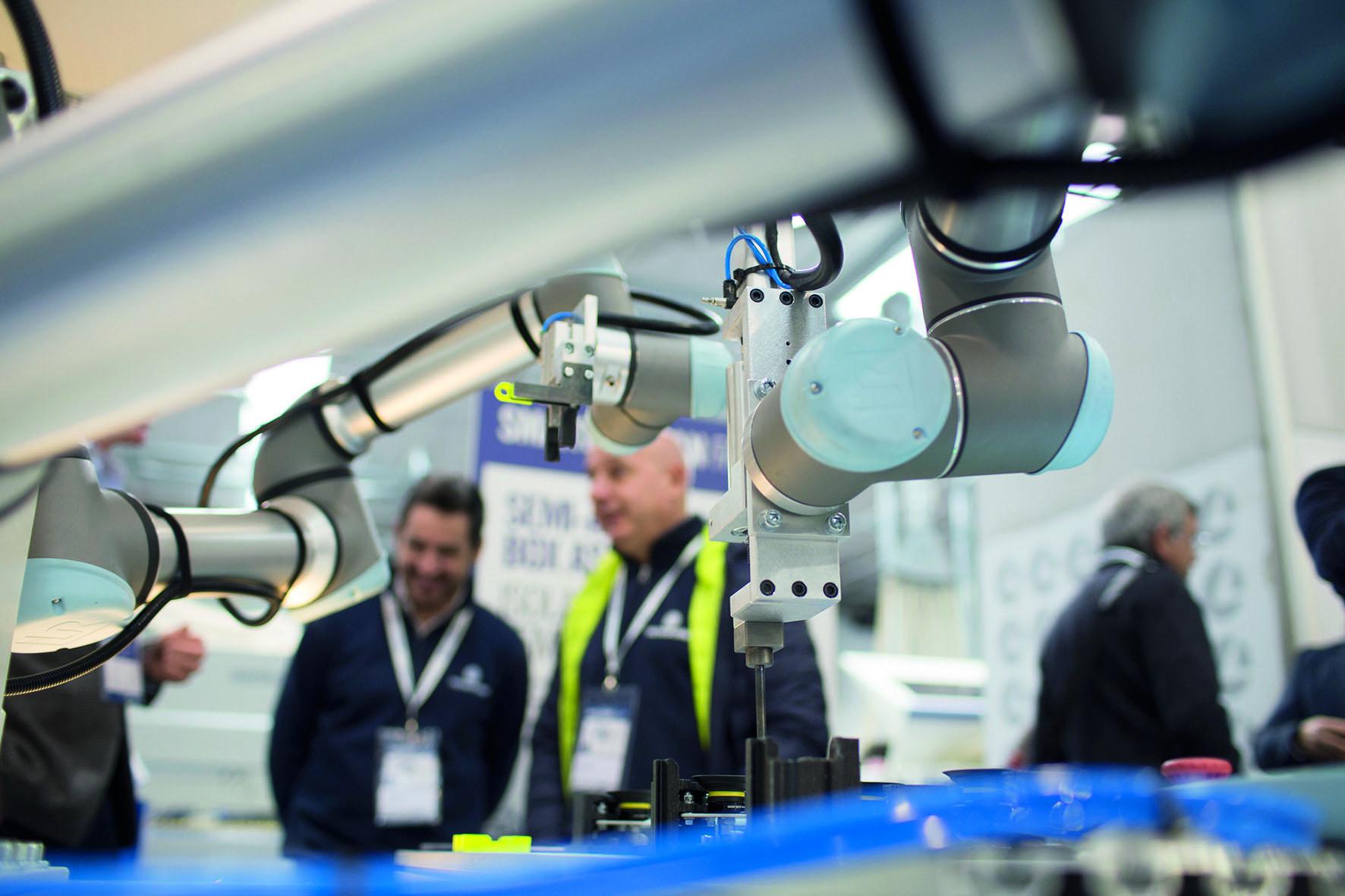 Podczas targów zostaną zaprezentowane roboty o różnym przeznaczeniu i konstrukcji.                                                                                                                                                                                            Fot. SCM