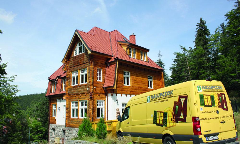 Z wizytą w firmie Halupczok - Stolarstwo s.c