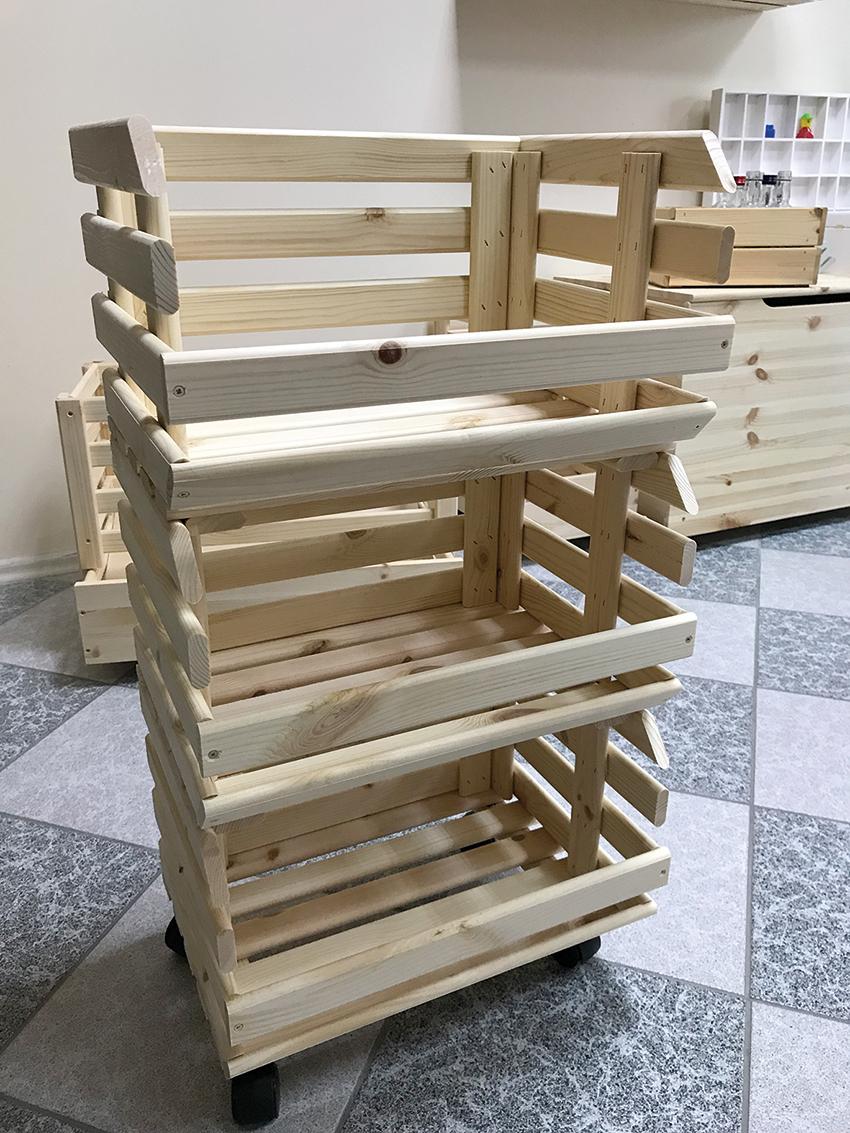 Produkty galanterii drzewnej z oferty Pinus. Fot. KD MEDIA