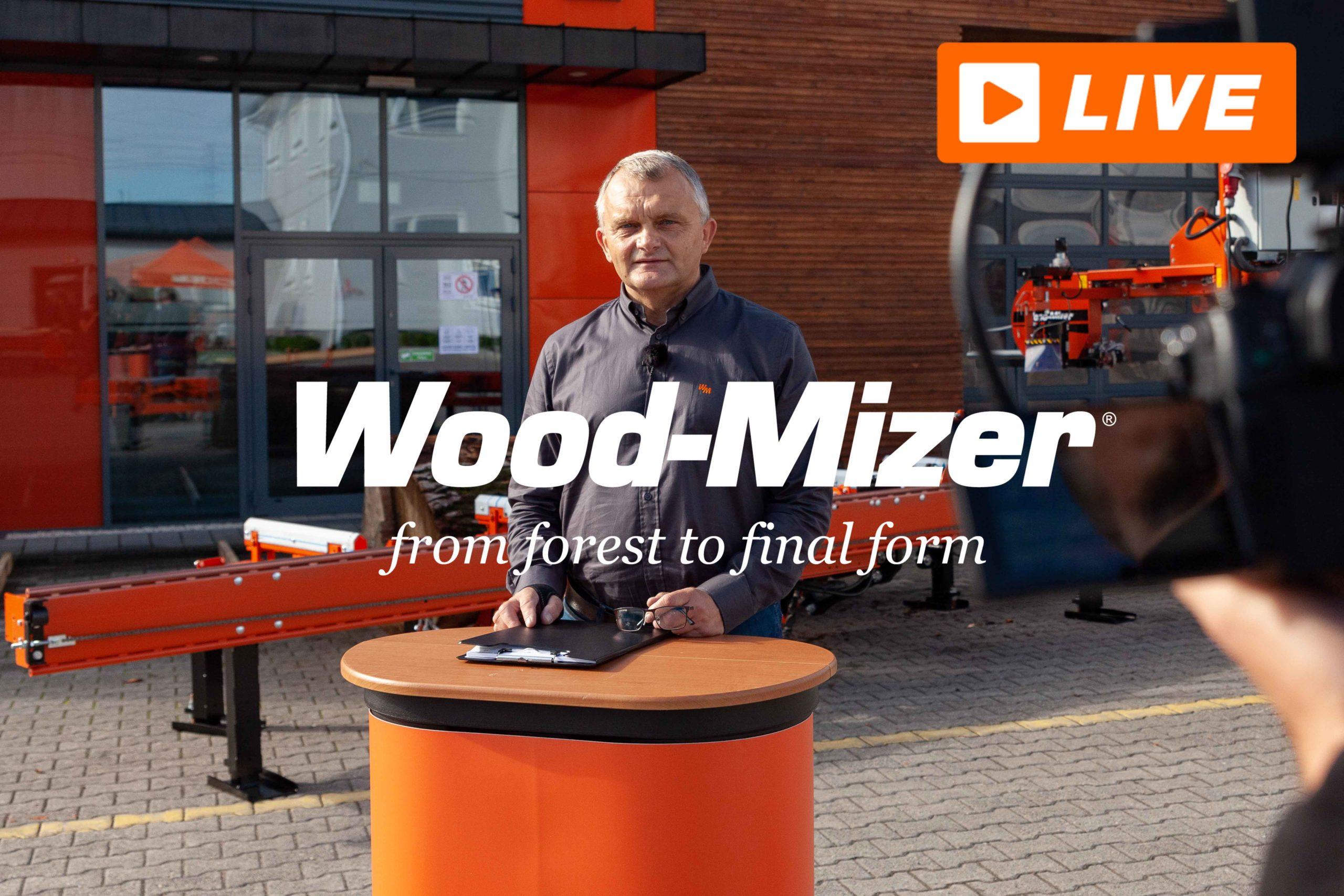 Wirtualna prezentacja maszyn Wood-Mizer LIVE