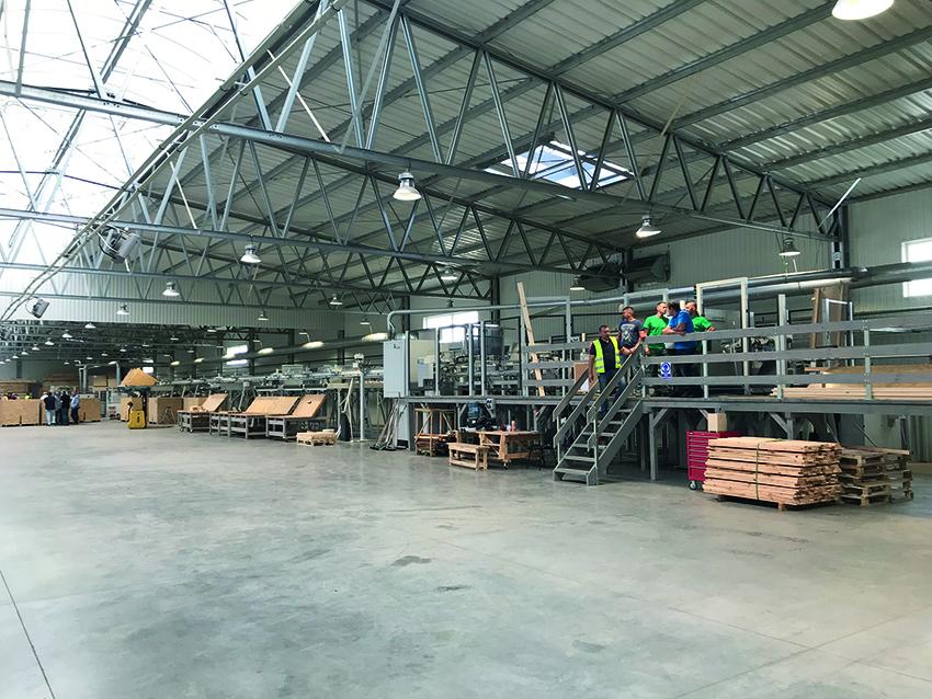 Linia do optymalizacji drewna. Fot. KD Media