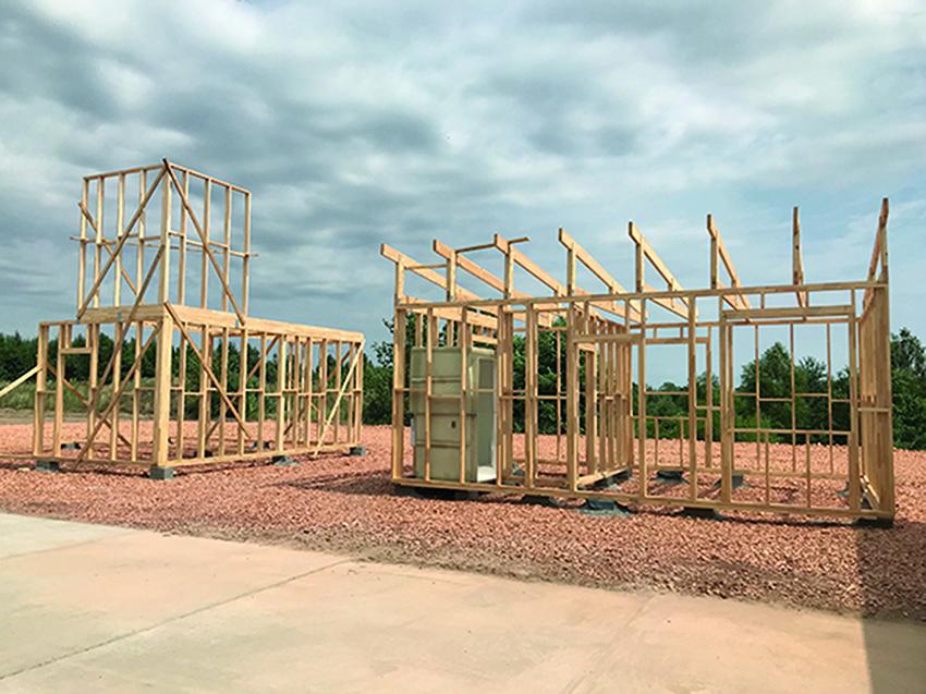 W najnowszej ofercie Zakładów Drzewnych POLDAN pojawiły się całoroczne domy drewniane. Fot. KD Media